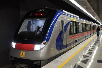 تردد یک میلیون مسافر با مترو تهران