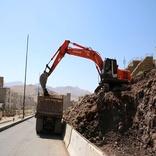 پایان عملیات آسفالت بلوار ۳۶ متری دگایران در سنندج