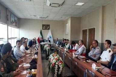 برگزاری نخستین جلسه مانور کامل سال 97 در فرودگاه تبریز