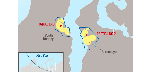 Novatek moves forward with Arctic LNG 2 project