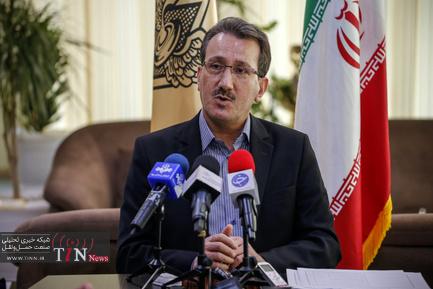 نشست خبری سعید رسولی عضو هیات مدیره راه آهن
