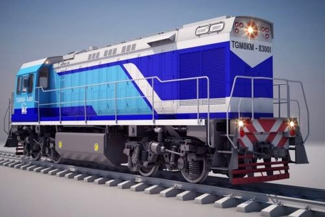 Sinara hands over first TGM8KM locomotive for Cuban Railways