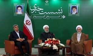 افتتاح راه آهن قزوین به رشت نشانگر بیاعتنایی مردم جهان به تحریم و دیوارها است