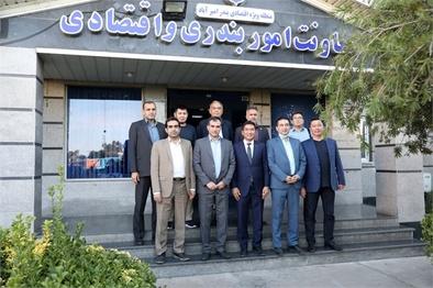 بازدید بازرگانان قزاقستانی از بندر امیرآباد