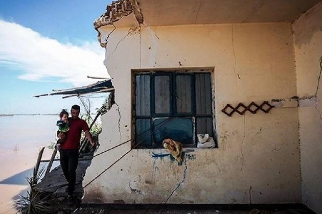 وقوع سیل به سه روستا در قوچان آسیب زد