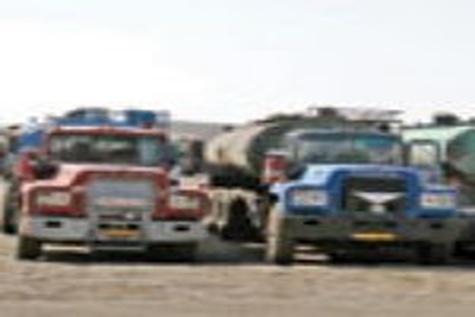 آغاز ترانزیت سوخت از مرز پرویزخان