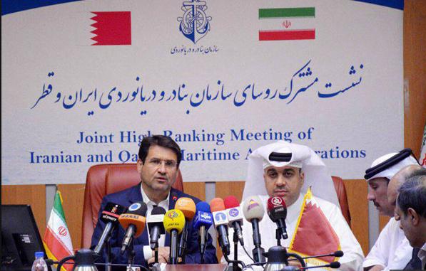 بازدید قطریها از بندر بوشهر