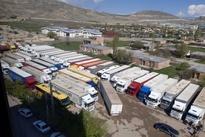 فیلم  جاسازی مواد مخدر و سیگار در کامیونها