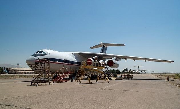 اورهال ۵ فروند هواپیما در پایگاه هوایی شیراز