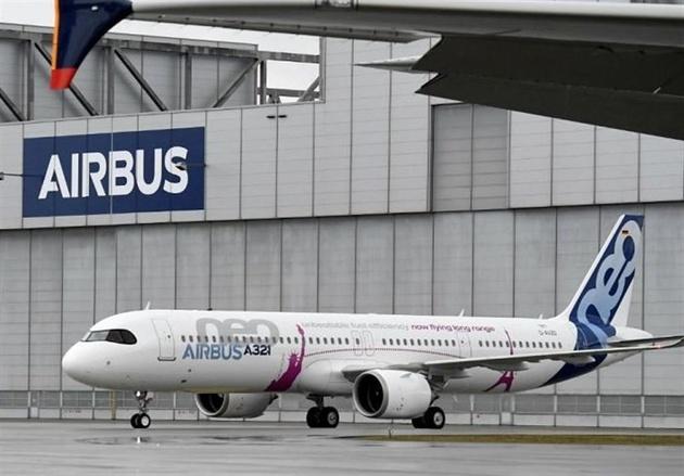 افزایش تحویل هواپیماهای ایرباس در ماه ژوئن