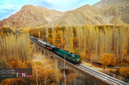 جاذبه های ریلی ایران