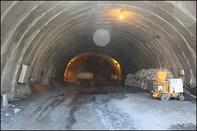 اتمام ساخت دو تونل در جاده جدید سنندج- مریوان