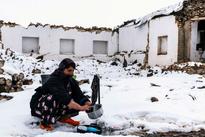تصاویری از بخش قطور شهرستان خوی یک هفته پس از زلزله 5.8 ریشتری