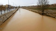 وضعیت پلها و رودخانههای غرب اصفهان به مرز هشدار رسید