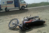 دو کشته و مصدوم بر اثر برخورد وانت و موتور سیکلت در یاسوج