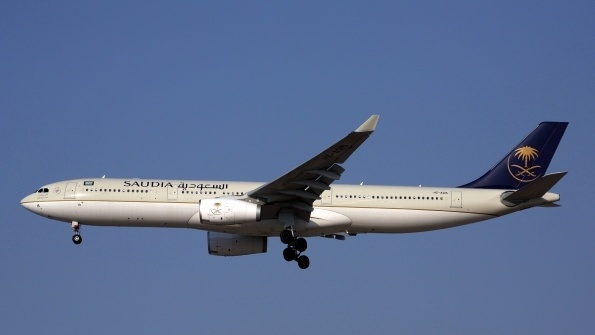 Saudia reports significant growth in transit traffic