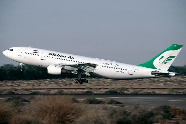 فرود اضطراری پرواز تهران-مشهد بر اثر ترکیدگی لاستیک هواپیما