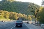 اعمال محدودیت های ترافیکی در جاده های مازندران
