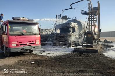 فیلم  آتش سوزی در مرز ماهیرود؛ حادثه ای که به خیر گذشت