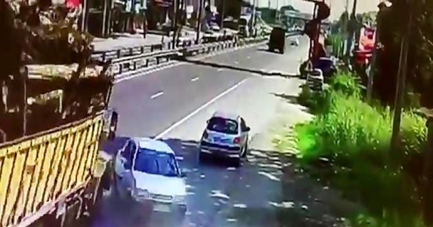 تصادف کامیون در شهر انگوت با 4 مصدوم