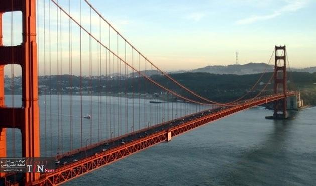 Road Zipper makes the move on the Golden Gate Bridge