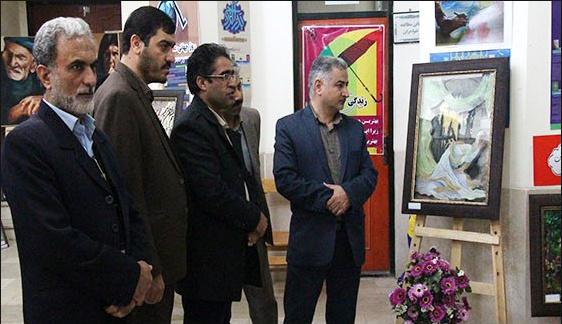 برگزاری نمایشگاه هنرهای تجسمی و دستی معلولان منطقه سه