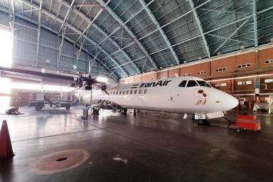انجام چک نیمه سنگین دومین هواپیمای ATR + تصاویر