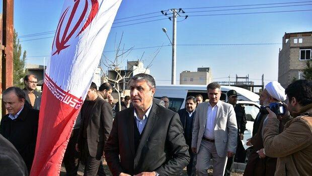 عملیات اجرایی قطعه سوم مسیر مشهد-فریمان آغاز شد