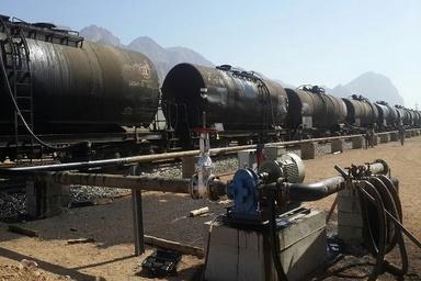 بارگیری اولین محموله نفت کوره سنگین از راهآهن کرمانشاه