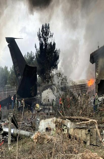 سقوط یک هواپیمای باری در صفادشت
