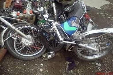 واژگونی موتورسیکلت دو کشته بر جای گذاشت