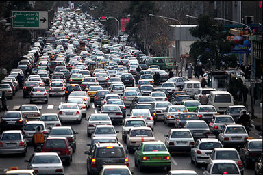 محدودیت ترافیکی جاده ها/ انسداد محور فسا-داراب به دلیل آبگرفتگی