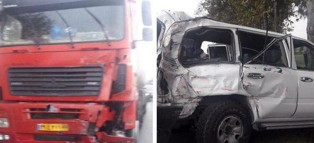 سرنخهای تازه از دلیل تصادف خودروی معاون وزیر کار