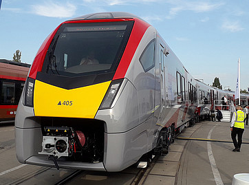'Gorgeous beast' will change perception of rail travel