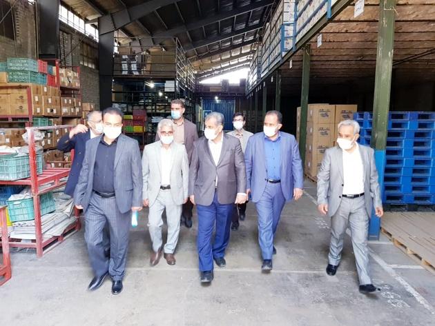 بازدید استاندار قزوین از شرکت پارس پامچال