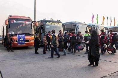 محدودیتهای بین استانی، مسافرت با اتوبوس را افزایش داد