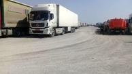 صف 15 کیلومتری در مرز مهران پس از بسته شدن مرزهای عراق + فیلم