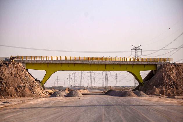 بهرهبرداری آزادراه کنارگذر شرق اصفهان در سال جاری