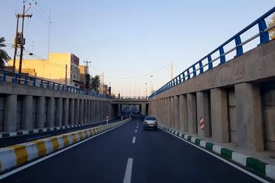 بار ترافیکی در شوشتر با بهرهبرداری از یک زیرگذر کاهش یافت