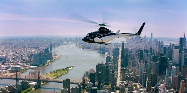 اولین سرویس تاکسی هوایی در نیویورک توسط اوبر افتتاح شد