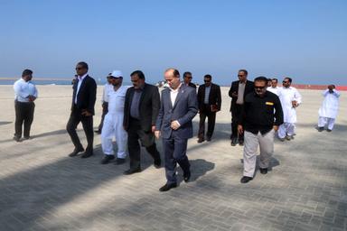 توسعه سواحل مکران، دروازه ورود به کشورهای آسیایی و CIS
