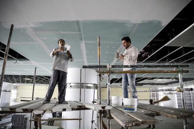 چند نما از ساخت و تکمیل ترمینال سلام فرودگاه امام