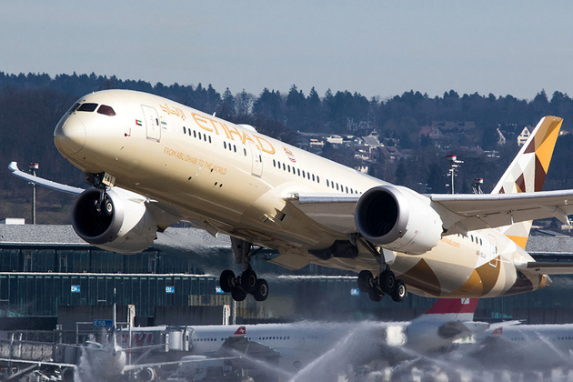 Etihad Airways' Boeing 787s Will Fly to Rome and Frankfurt