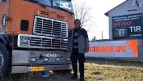 کمک رانندگان لهستانی برای راننده سرگردان ایرانی