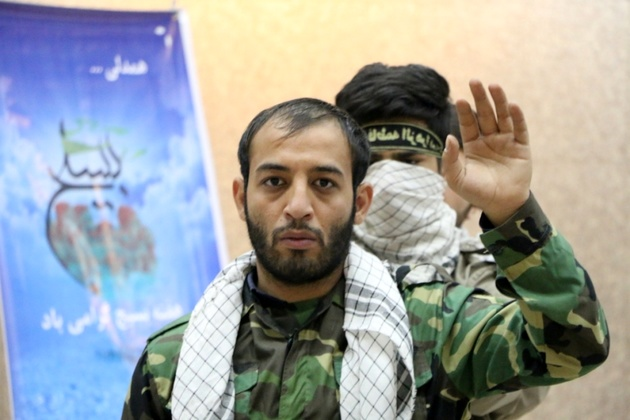 اجرای نمایش مقاومت در ایستگاه شهرری و ایوان انتظارمتروی تهران