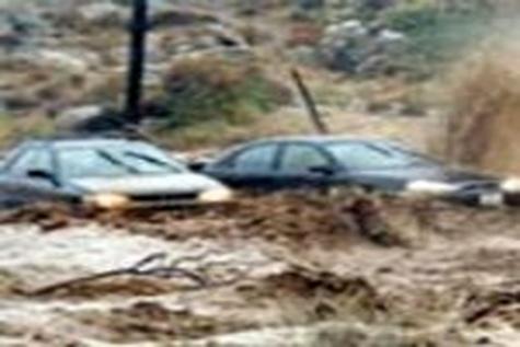 سه راه ارتباطی جنوب سیستان و بلوچستان براثر طغیان رودخانه بسته شد