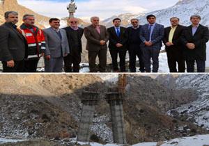 بازدید معاون وزیر حمل ونقل جادهای وزارت حمل و نقل افغانستان از جاده هراز