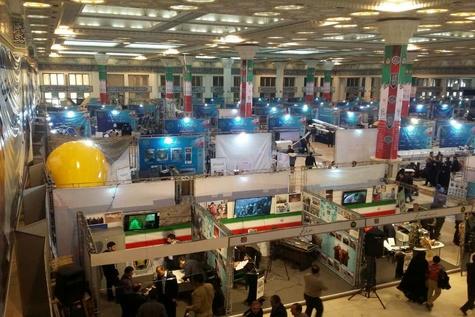 نمایش دستاوردهای علمی و صنعتی در نمایشگاه اقتدار 40