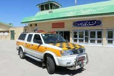 استفاده از خودرو روشنایی باند در فرودگاه لامرد