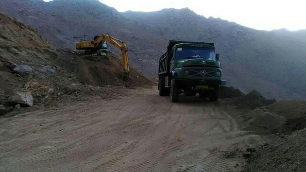 افتتاح راه روستایی منشاد - زردین در سالجاری